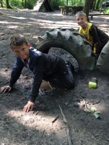 Getting muddy pgl